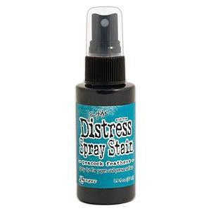 Tim Holtz Distress Spray Stains 1.9Oz Bottles - Peacock Feathers