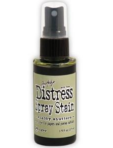 Tim Holtz Distress Spray Stains 1.9Oz Bottle - Shabby Shutters