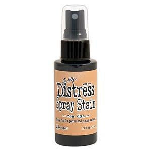 Tim Holtz Distress Spray Stains 1.9Oz Bottles - Tea Dye