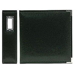 Wrmk - Classic Leather 12In. X 12In. Albums - Black
