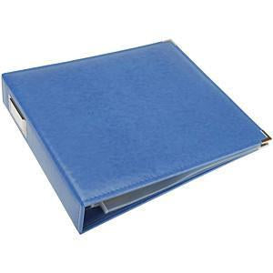 We R Classic Leather 3-Ring Album 12X12 Country Blue