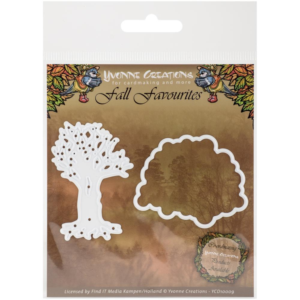 Find It Trading Yvonne Creations Fall Favorites Die Seasonal Tree