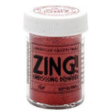 Zing! Glitter Embossing Powder 1Oz Red