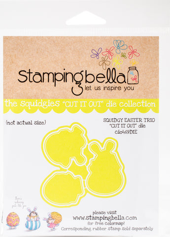 Stamping Bella Cut It Out Dies Easter Trio Squidgy