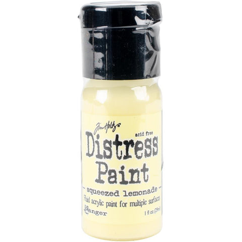Tim Holtz Distress Paint Flip Top 1oz - Squeezed Lemonade