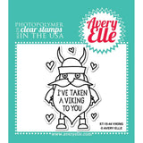Avery Elle Clear Stamp Set 2X3 inch - Viking