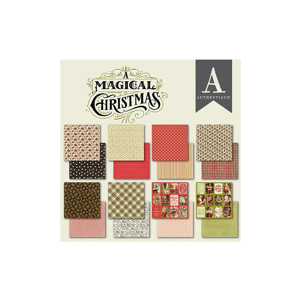 Authentique Double-Sided Cardstock Pad 6X6 24/Pkg A Magical Christmas