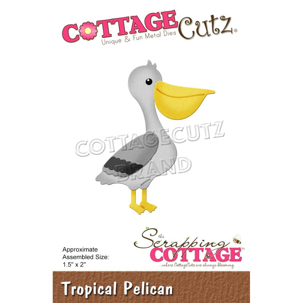 CottageCutz Dies - Tropical Pelican 1.5X2