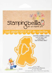 Stamping Bella Cut It Out Dies Easter Bonnet Chick