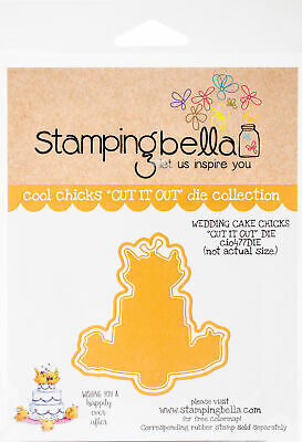 Stamping Bella Cut It Out Dies Wedding Cake Chicks