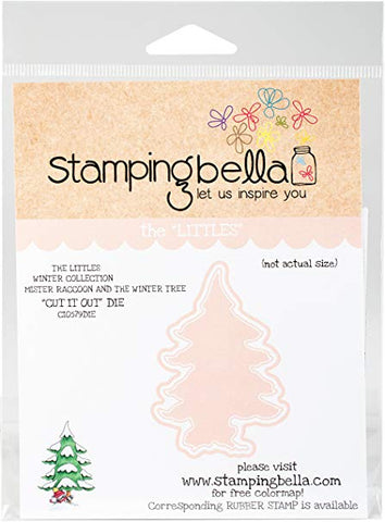 Stamping Bella Cut It Out Dies Mr. Raccoon & The Winter Tree