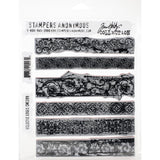 Tim Holtz Cling Stamps 7X8.5 - Eclectic Edges