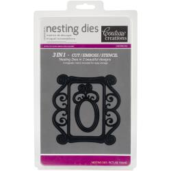 Couture Creations Nesting Dies Picture Frame