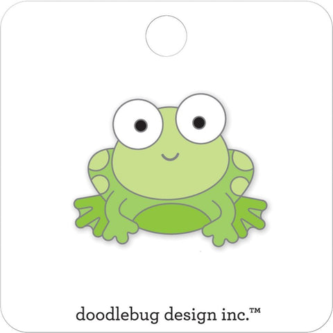 Doodlebug - Collectible Enamel Pin - Froggy - Candy Carnival