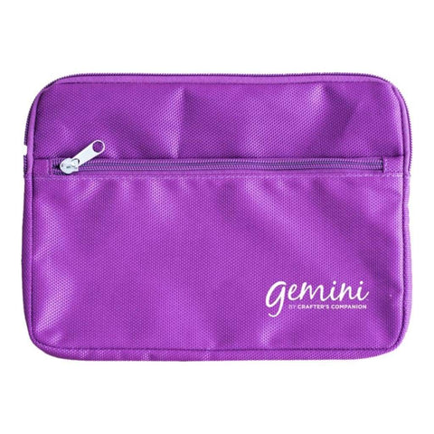 Crafters Companion - Gemini Plate Storage Bag Purple