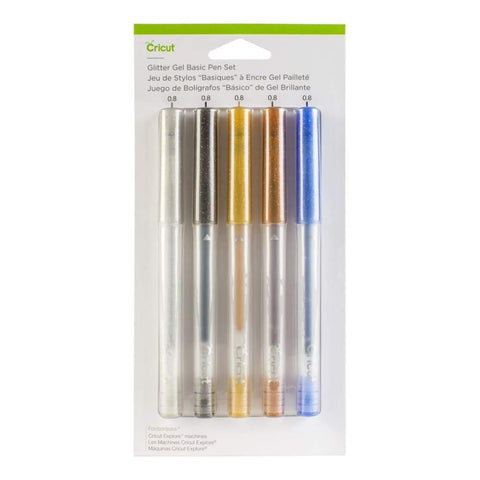 Cricut - Glitter Gel Pen Set 5 - pack Basics