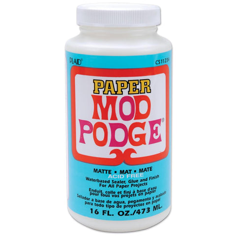 Mod Podge Paper Matte Finish 16oz