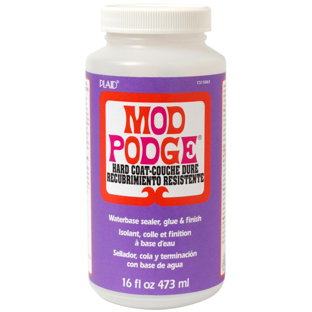 Mod Podge Satin Hard Coat Finish 16oz