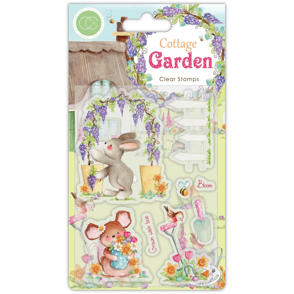 Craft Consortium A5 Clear Stamps Green Fingers