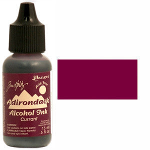 Adirondack Alcohol Ink .5 Ounce  -  Earthtones -  Currant