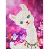 Diamond Dotz Diamond Embroidery Facet Art Kit 12.6X16.5 Lulu Llama