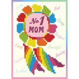 Diamond Dotz Diamond Embroidery Facet Art Greeting Card Kit No.1 Mom