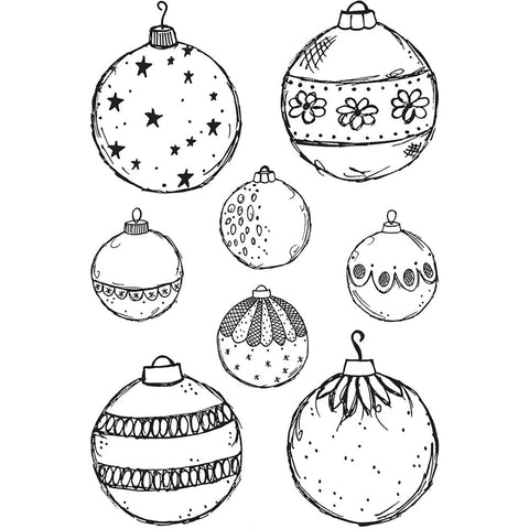 Darkroom Door Cling Stamps 7 inch X5 inch Fine Baubles