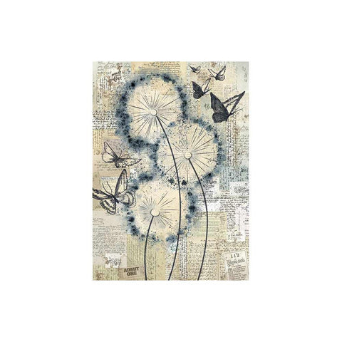 Stamperia-A4 Decoupage Rice Paper-Blowing In The Wind