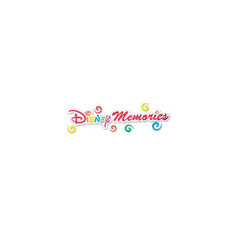 Disney Title Dimensional Stickers Disney Memories