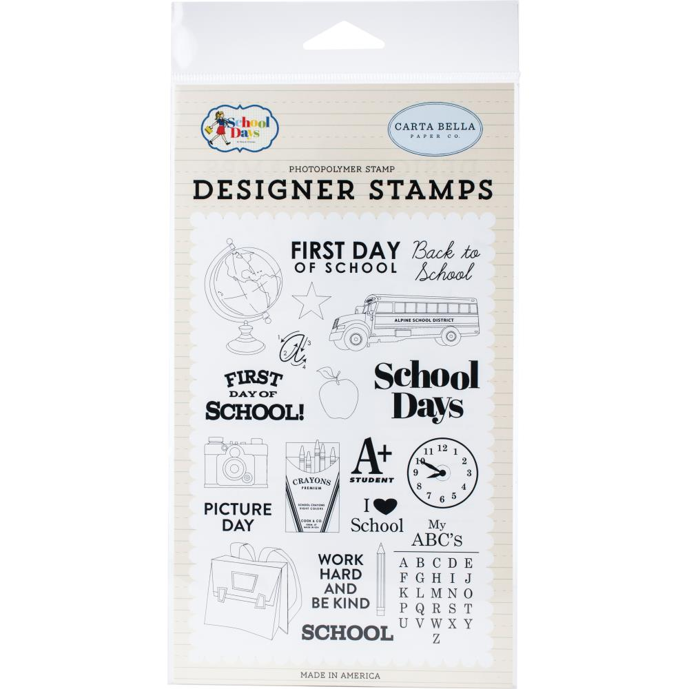 Carta Bella Stamps - School Days