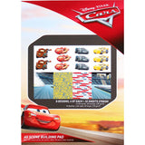Disney A5 Scene Building Pad 32 pack Cars 3, 8 Designs/4 Each