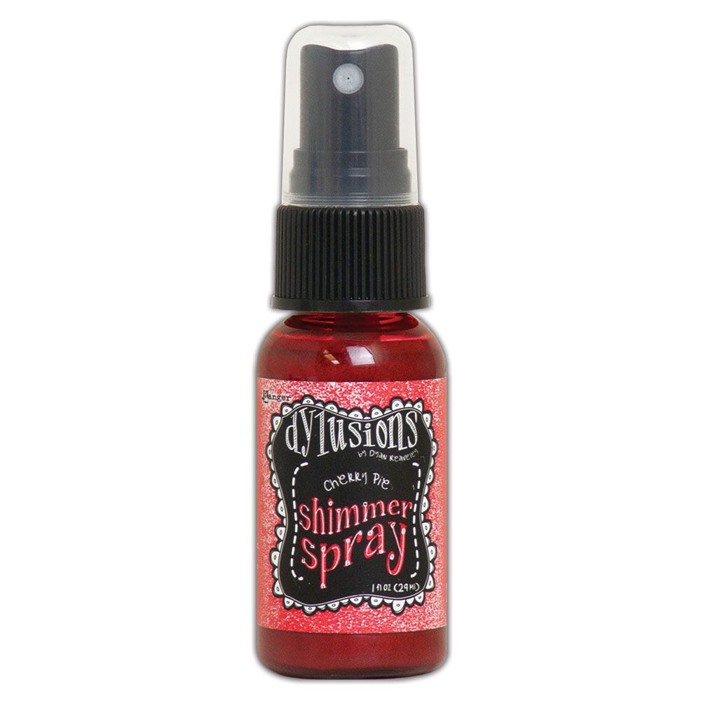 Dylusions Shimmer Sprays 1oz - Cherry Pie