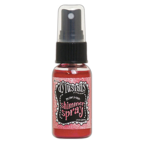 Dylusions Shimmer Sprays 1oz - Peony Blush