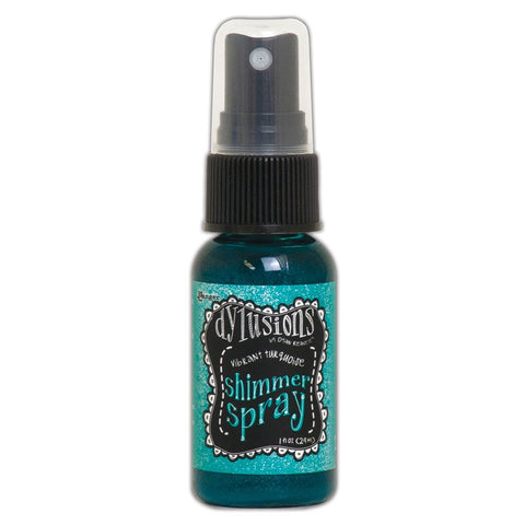 Dylusions Shimmer Sprays 1oz - Vibrant Turquoise