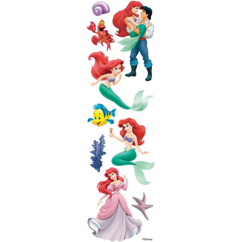 Disney Slims Dimensional Stickers The Little Mermaid