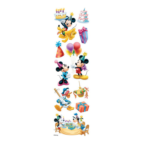 Disney-Slims Dimensional Stickers-Mickey Mouse Birthday