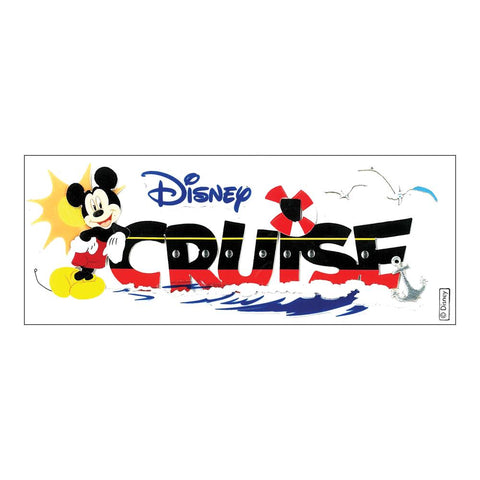 Disney Title Dimensional Stickers Mickey - Cruise