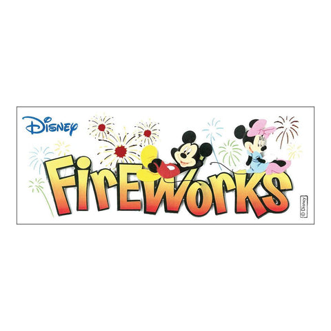 Disney Title Dimensional Stickers Mickey - Fireworks