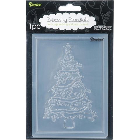 Embossing Folder 4.25X5.75 Christmas Tree