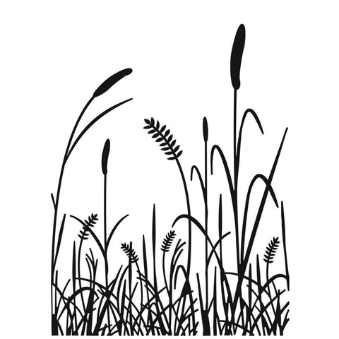 Embossing Folder 4.25X5.75 Grass Silhouette