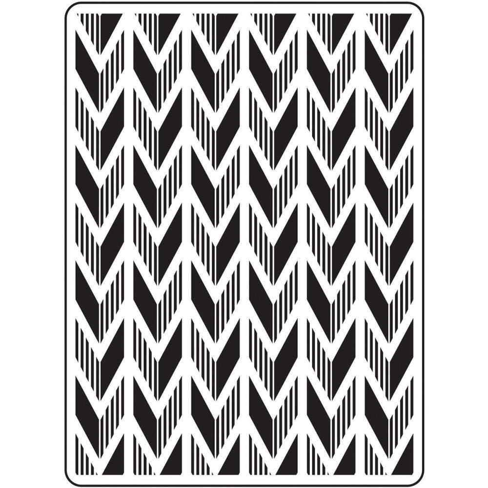 Darice Embossing Folder 4.25 X 5.75 inch - Arrow
