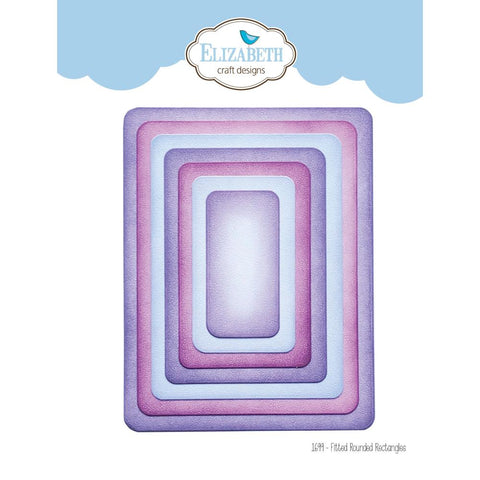 Elizabeth Craft Metal Die - Fitted Rounded Rectangle