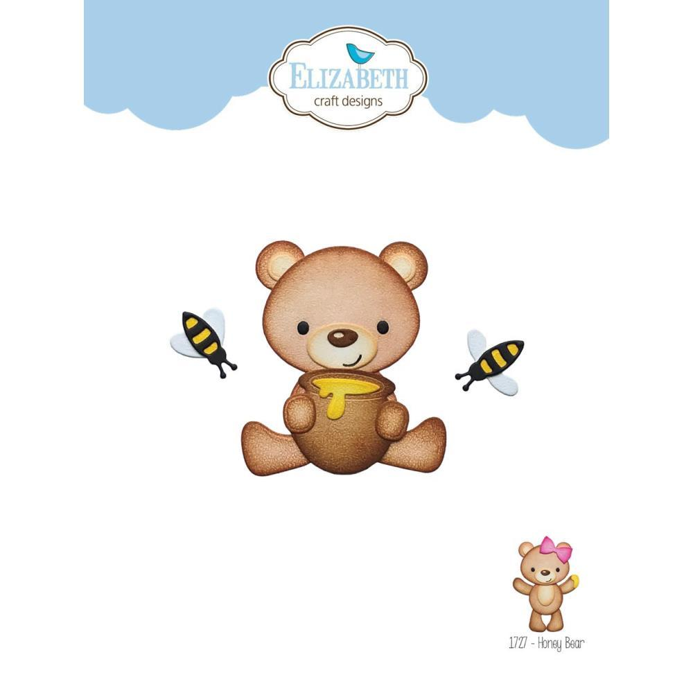 Elizabeth Craft Metal Die - Honey Bear