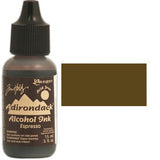 Adirondack Alcohol Ink .5 Ounce  -  Earthtones -  Espresso