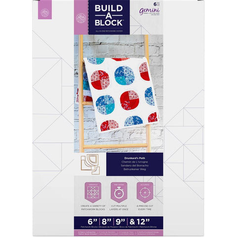 Crafters Companion - Gemini Build-A-Block Curves Dies - Drunkards Path