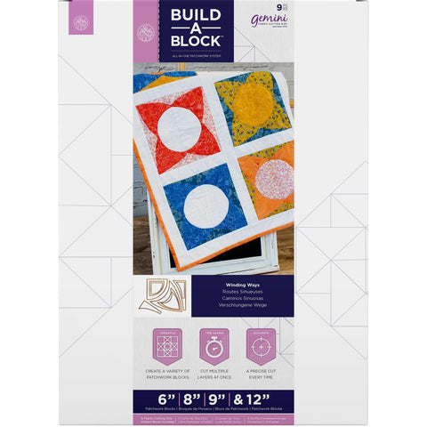 Crafters Companion - Gemini Build-A-Block Curves Dies - Winding Ways