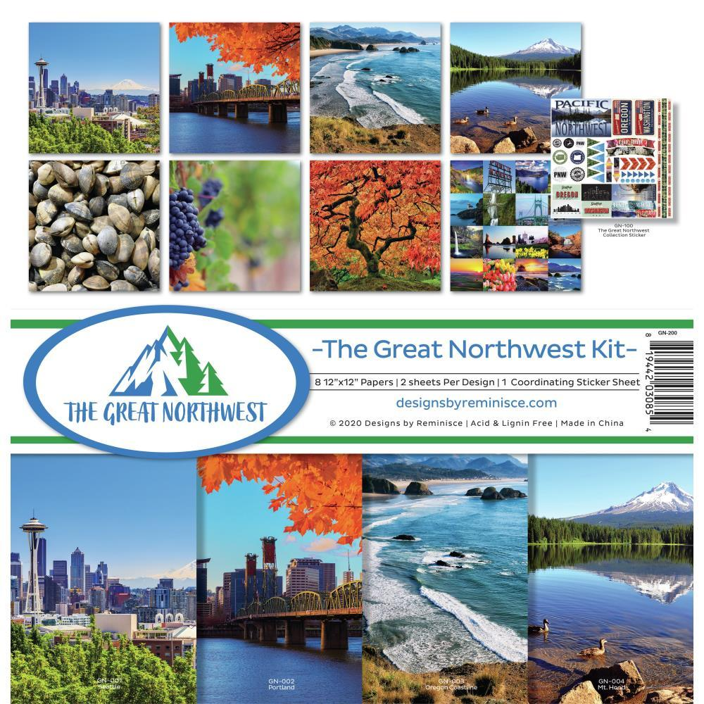 Reminisce Collection Kit 12in x 12in - The Great Northwest