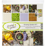 Reminisce Collection Kit 12X12 Growing Garden