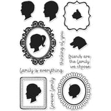 Hero Arts Clear Stamps 4X6 Family Portrait