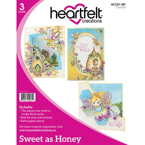 Heartfelt Creations Sweet As Honey Card Kit Card Collection